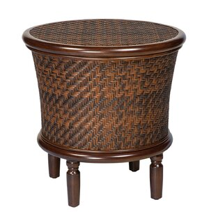 North Shore Round Storage Side Table