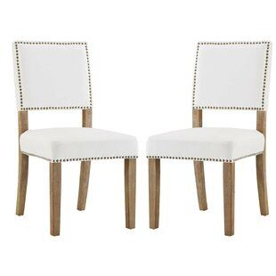 Trever Upholstered Dining Chair (Set Of 2) by Gracie Oaks Modern