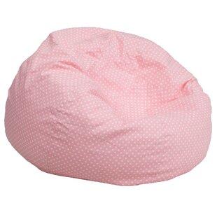 Pink Fluffy Bean Bag  376a6d37c5cd1