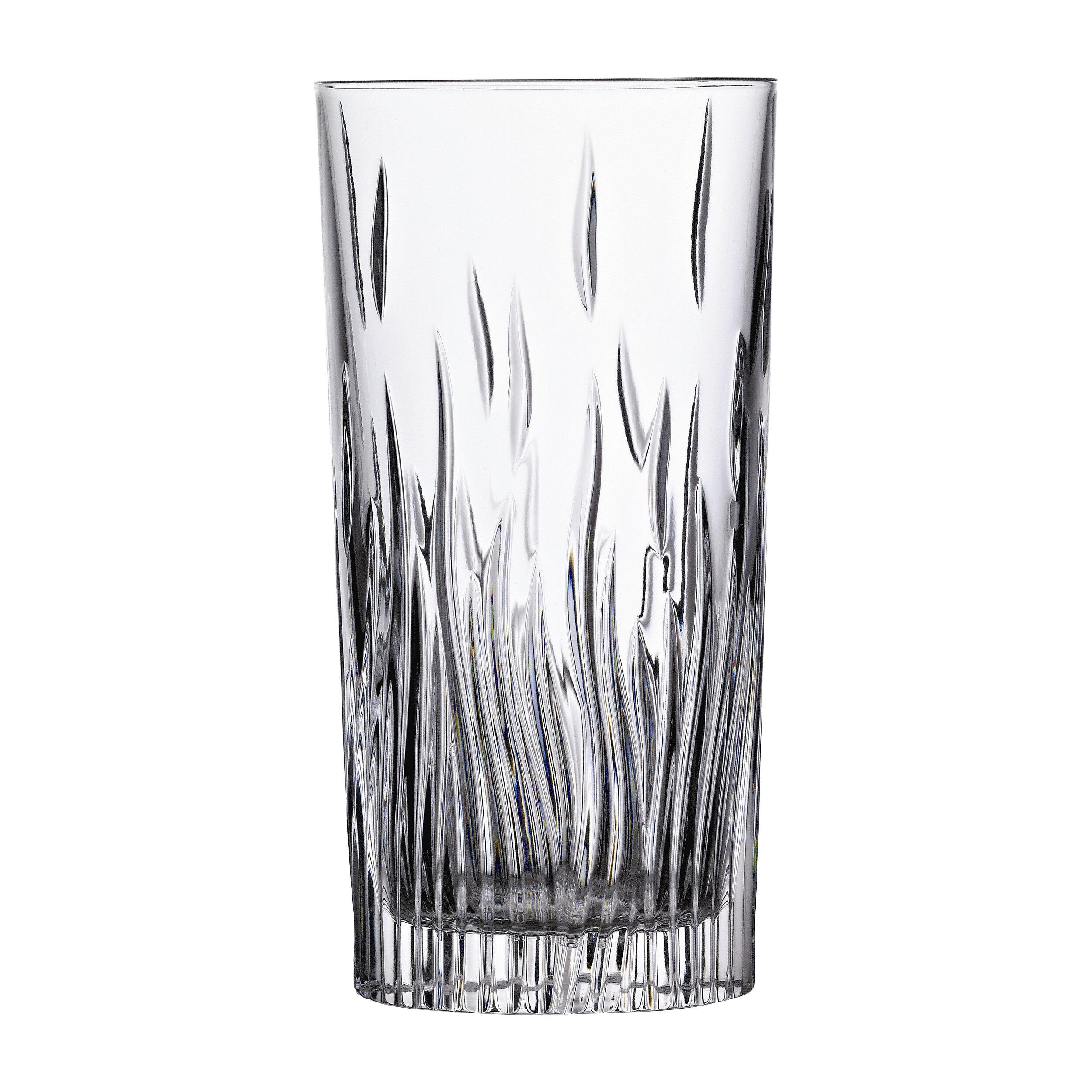 Lorren Home Trends Rcr Fire 11 Oz Crystal Highball Glass Reviews Wayfair