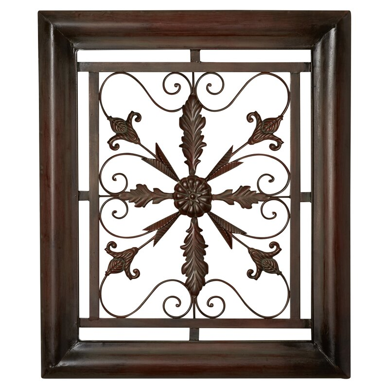 Bayliss Square Scroll Wall Decor