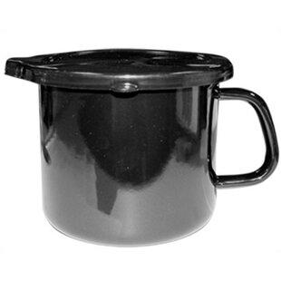 Calypso Basics 1.5-qt. Stock Pot in Black