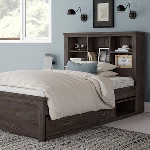 Zayley Full Bookcase Bed Wayfair