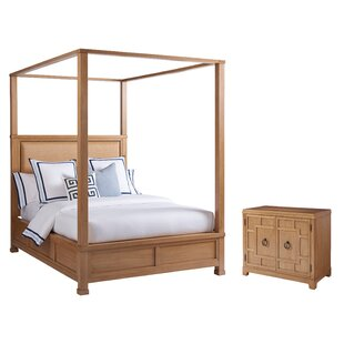 Newport Upholstered Canopy Configurable Bedroom Set