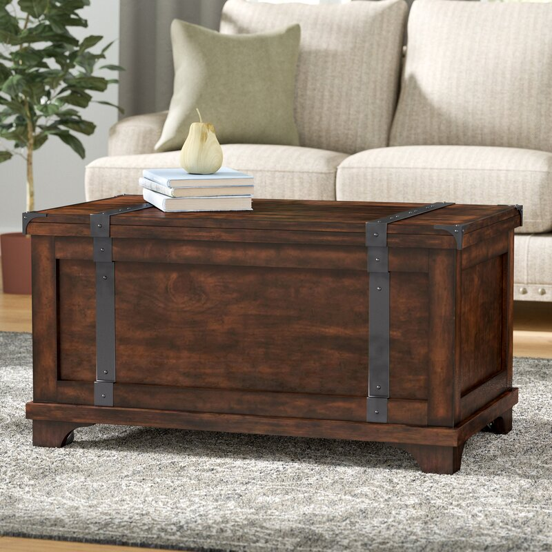 Hebbville Coffee Table With Lift Top