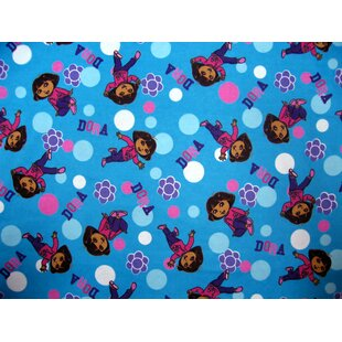 Reviews Dora Toddler Fitted Crib Sheet By Sheetworld