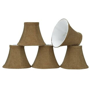 Find the perfect 6 Linen Bell Candelabra Shade (Set of 5) By Aspen Creative Corporation