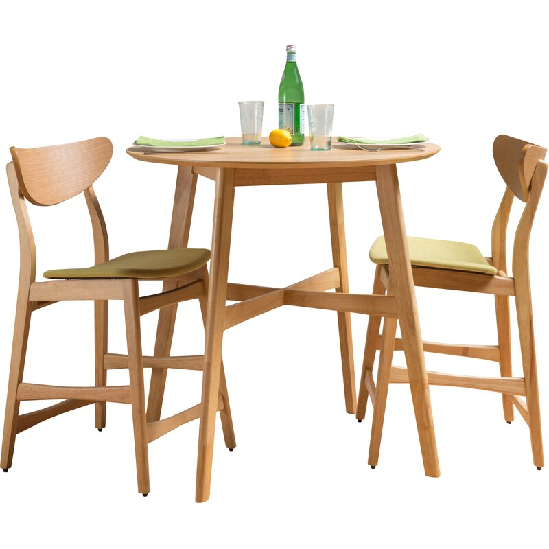 Enjoyable Denver 3 Piece Dining Set Caraccident5 Cool Chair Designs And Ideas Caraccident5Info