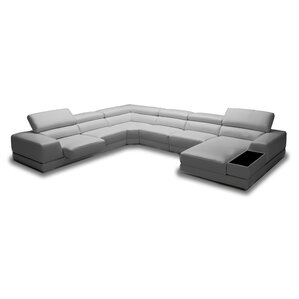 Orren Ellis Coalpit Heath Reclining Sectional Image