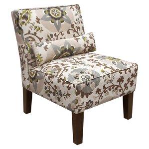 Sasha Cotton Slipper Chair by Skyline Furnit..
