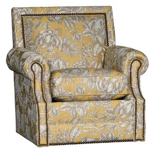 Huckabee Swivel Club Chair by Bloomsbury Market