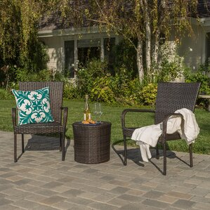 Wicker Furniture Youll Love Wayfair - Outdoor patio furniture wicker