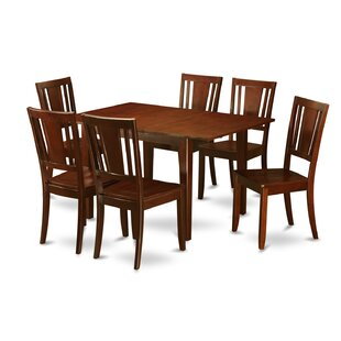 Milan 7 Piece Dining Set by Wooden Importers Comparison