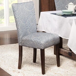 Feldman Upholstered Dining Chair (Set of 2) by Longshore Tides