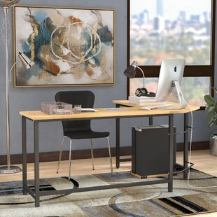 Harkey Adjustable L-Shaped Computer Desk