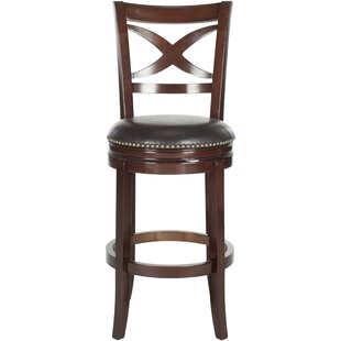 Buy luxury Gallucci 29 Swivel Bar Stool by Charlton Home Reviews (2019) & Buyer's Guide