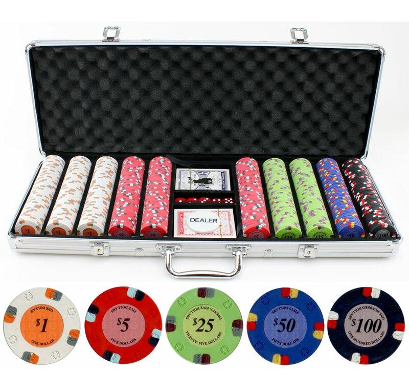Rolling Poker Chip Aluminum Case Holds 1,000 Poker Chips Brand NEW