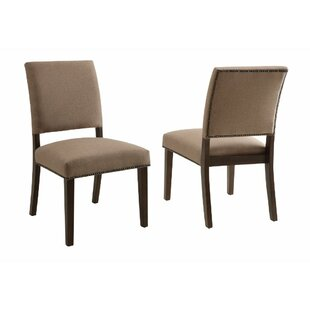 Kopec Upholstered Dining Chair (Set of 2)