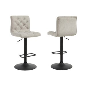 Adjustable Height Swivel Bar Stool (Set of 2) by WorldWide HomeFurnishings