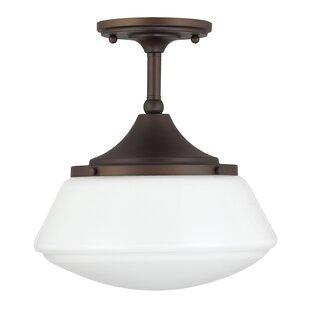 High Quality Savane 1 Light Semi Flush Mount