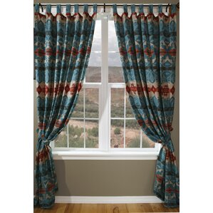 turquoise ombre curtains | wayfair
