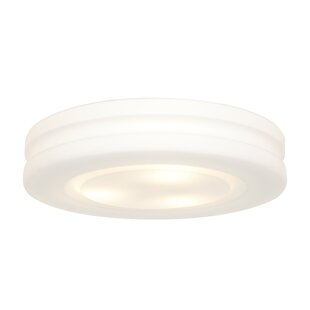 Price comparison Moffatt 1-Light Outdoor Flush Mount By Orren Ellis