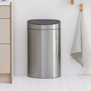 Steel 10.5 Gallon Trash Can
