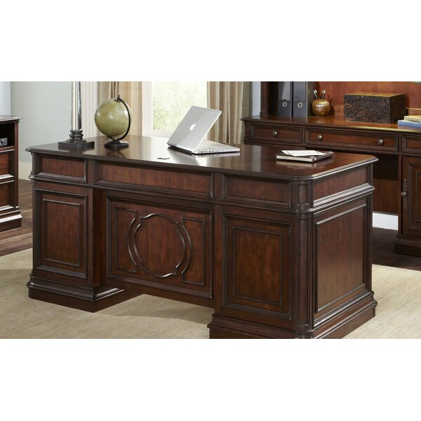 Three Posts Brayton Manor Jr Executive Desk Amp Reviews