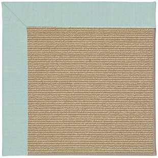 Zoe-Sisal Ocean Gray Indoor/Outdoor Area Rug