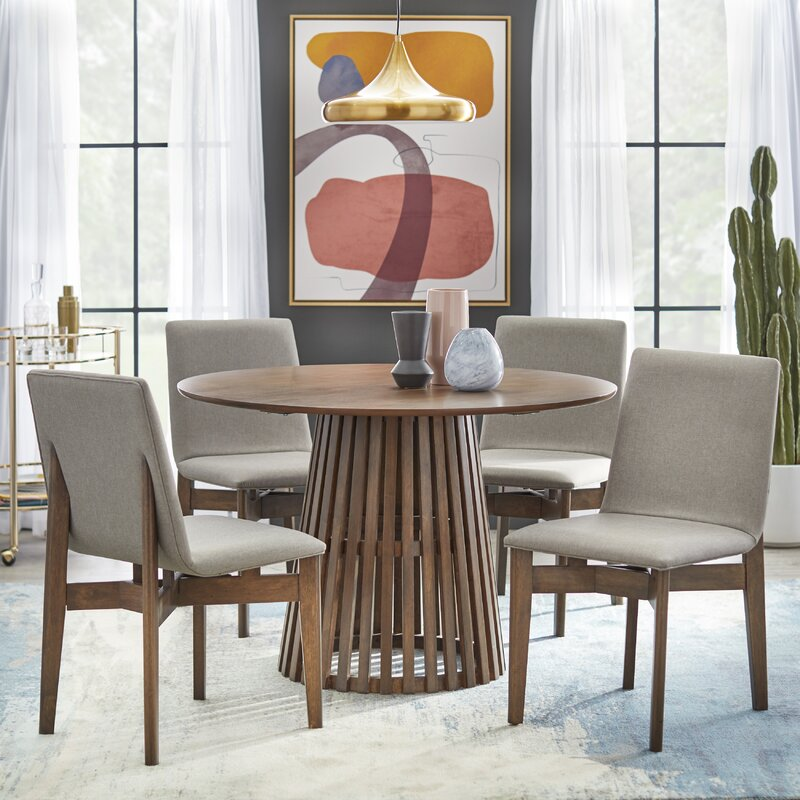 White Cane Outdoor Furniture, George Oliver Parisi Counter Height Dining Set Reviews Wayfair
