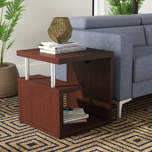 Inexpensive Courtney End Table ByZipcode Design