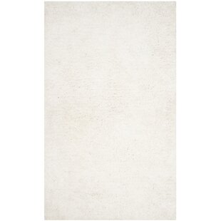 Bargain Bilgarrie Hand-Tufted White Area Rug ByWilla Arlo Interiors