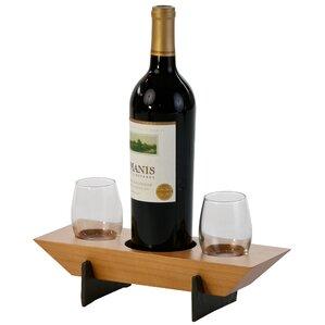 Lenhardt 1 Bottle Tabletop Wine Rack by R..