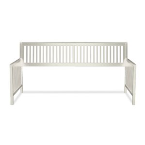 Chafin Wood Daybed Frame with Open-Slatted Back and Side Panels by Andover Mills