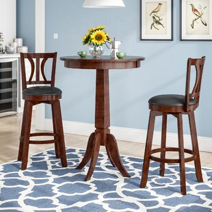Loami 3 Piece Pub Table Set by Darby Home Co Cheap