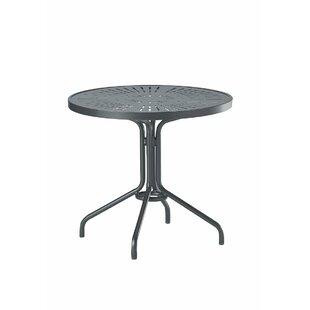 La'Stratta Aluminum Dining Table