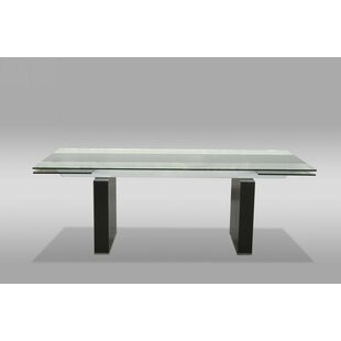 Clower Clear Extendable Dining Table