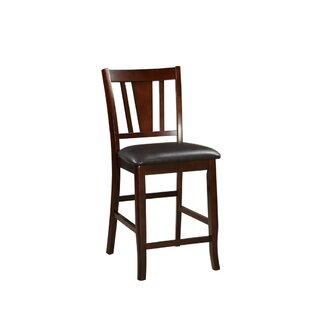 Stahlman Wooden 24 Bar Stool (Set of 2) by Millwood Pines
