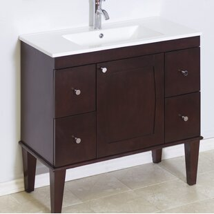 Transitional 36 Single Bathroom Vanity Base by American Imaginations