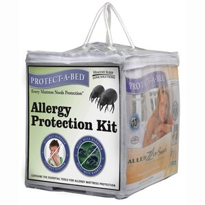 Allergy Hypoallergenic Waterproof Mattress Protector by Protect-A-Bed