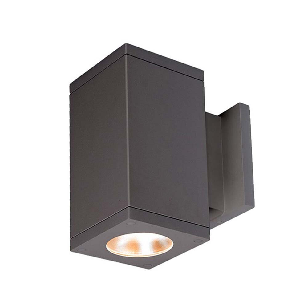 Wac Lighting Cube Architectural Led Outdoor Armed Sconce Wayfair
