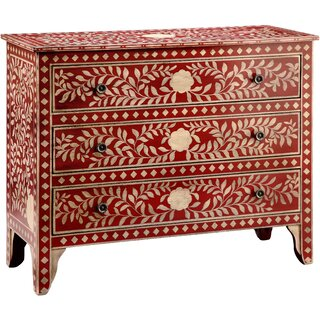 West Brookfield 3 Drawer Accent Chest by Bungalow Rose SKU:AA300890 Shop