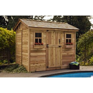 Garden Sheds 9 X 5 wood storage sheds you'll love | wayfair