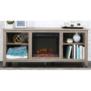 Sunbury Electric Fireplace by Beachcrest Home