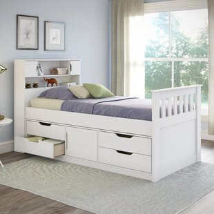Shop For Angelica Twin Mate's & Captain's Bed with Drawers by Mack & Milo Reviews (2019) & Buyer's Guide