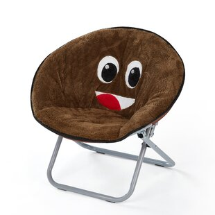 Conway Emoji Saucer Kids Chair by Zoomie Kids