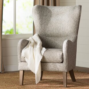 Granville Swoop Wingback Chair Laurel Foundry Modern Farmhouse