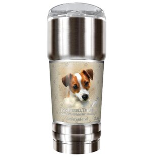 Howard Robinson's Jack Russell 32 oz. Stainless Steel Travel Tumbler