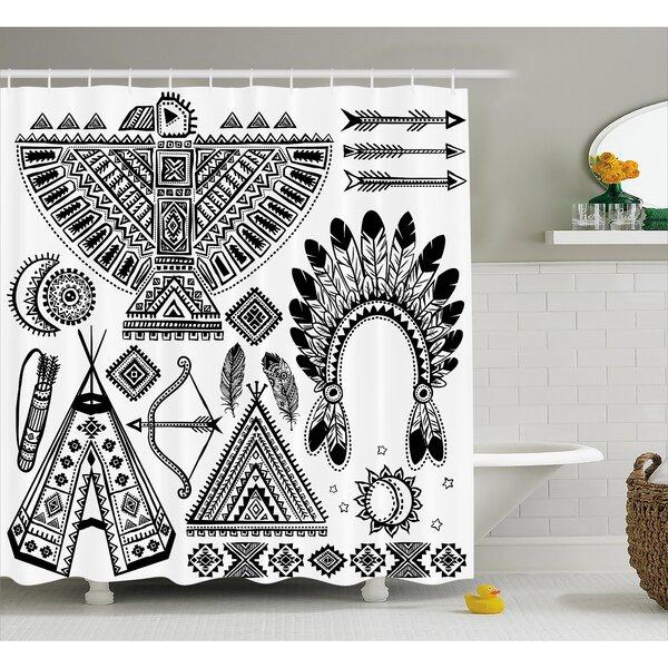American Indian Shower Curtain Wayfair