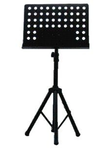 Music Adjustable Height Speaker Stand by Summit Lecterns